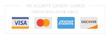 We Accept Credit Cards & Offer Financing for Pest Control Services